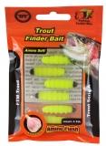 FTM Trout Finder Bait gelb 6 St.