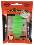 FTM Trout Finder Bait grün 6 St.