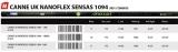 Sensas PACK UK NANOFLEX SENSAS 1094 14.50m, 1090 Gramm, 6+1 Kits