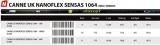 Sensas PACK UK NANOFLEX SENSAS 1064 16m, 1420 Gramm, 6+1 Kits