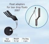 Cralusso Posen Adapter float fixed 4 Stück, 0.9mm